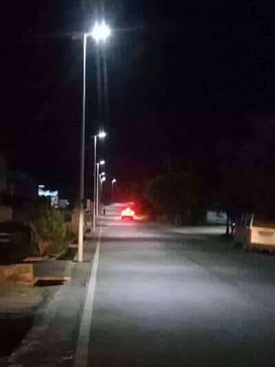 30w solar street light for road lighting