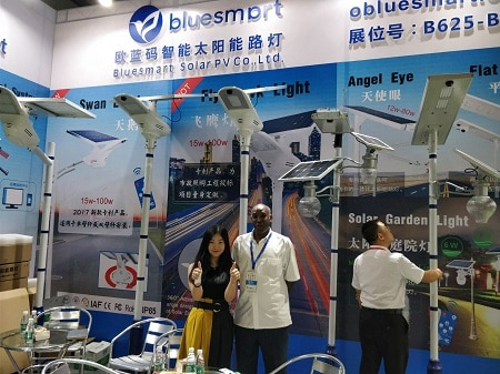 solar fair at guangzhou 2017