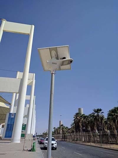 solar fly hawk in Saudi Arabia for road lighting