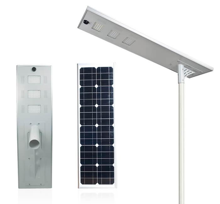 Flat series all in one solar street light