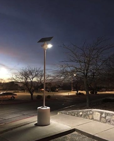 parking lots solar street lighting